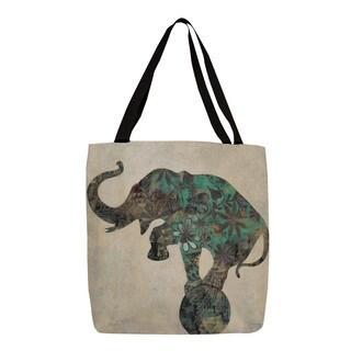 Thumbprintz 'Having a Ball II' Elephant Graphic Print Tote
