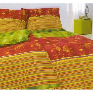 "Bassetti ""Bibi V1"" Multi-colored Vintage Paisley Cotton Comforter"