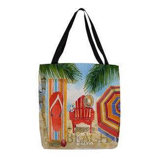 Thumbprintz 'Beach Medley' Graphic Printed Tote
