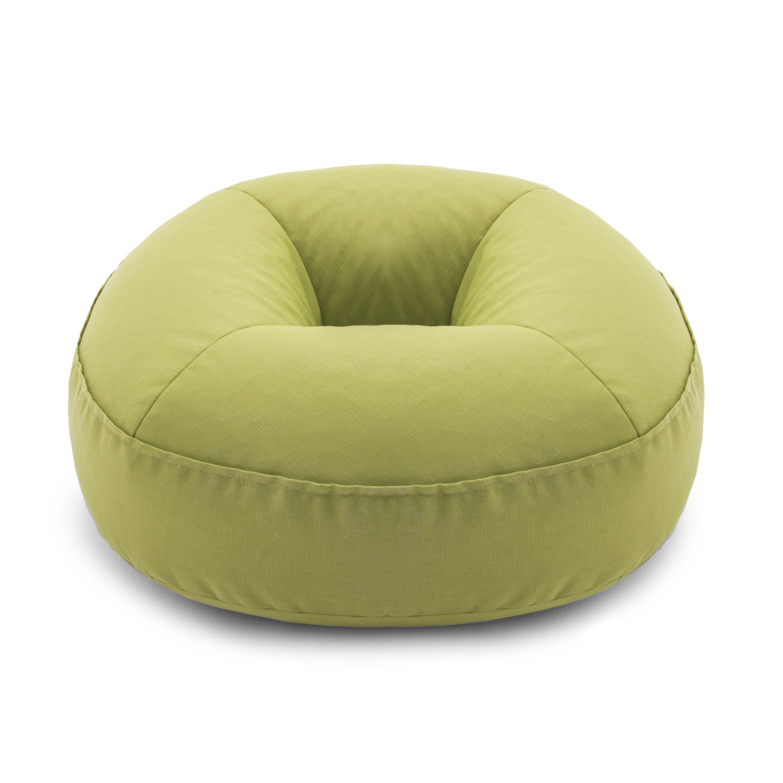 Peachy Beansack Big Joe 3 In 1 Zip It Donut Outdoor Indoor Bean Bag Chair Floor Pillow Inzonedesignstudio Interior Chair Design Inzonedesignstudiocom