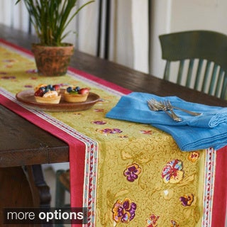 Couleur Nature Pansy Table Runner