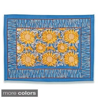 Couleur Nature Sunflower Mats (Set of 6)