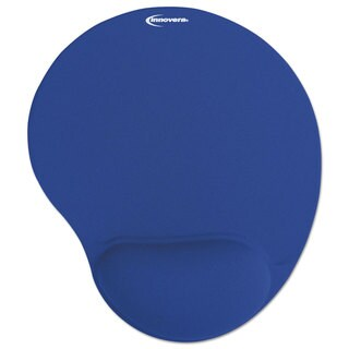 Innovera Mouse Pad w/Gel Wrist Pad, Nonskid Base