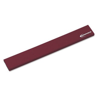 Innovera Burgundy Natural Rubber Keyboard Wrist Rest