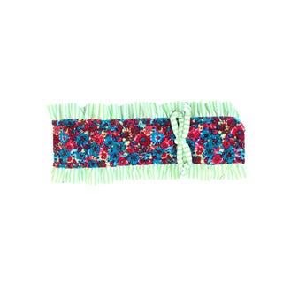 Azul Swimwear 'Wild at Heart' Girls Mixed Print Ruffled Headband