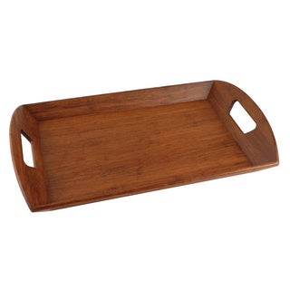 Totally Bamboo 20-7518 Espresso Butler's Tray