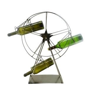 WineBodies Ferris Wheel Metal Wine Bottle Holder