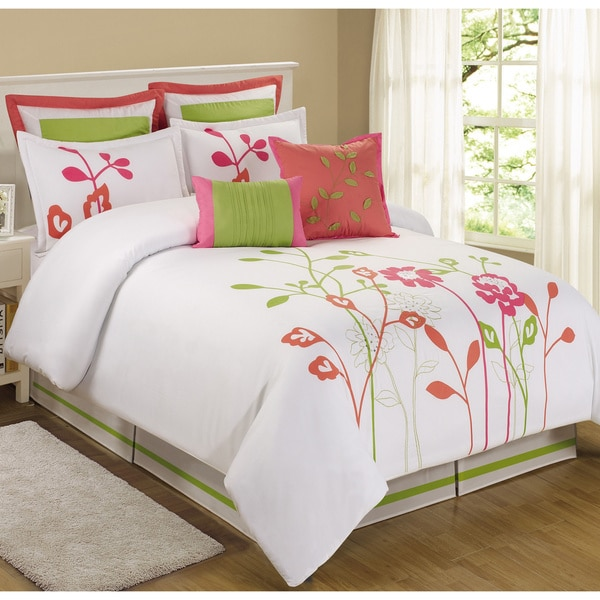 Fashion Street Goley 8-piece Comforter Set