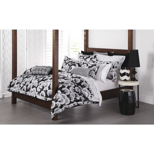 Floral Sateen Cotton 3-piece Duvet Cover Set