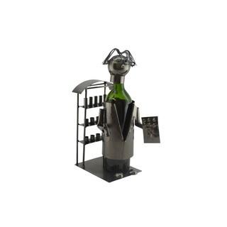 Pharmacist Metal Wine Bottle Holder