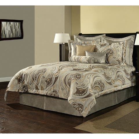 PCHF Bel Air Paisley 4-piece Luxury Comforter Set