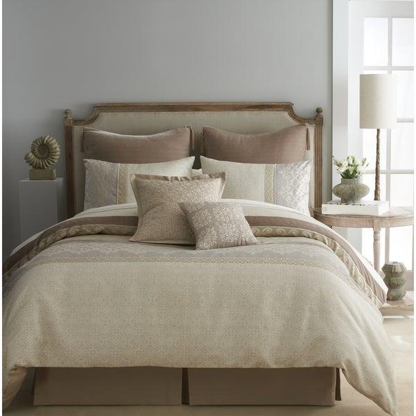 Modern Living Emery Brown/ White Comforter Set