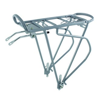 Traveler Silver Alloy Pannier Rack