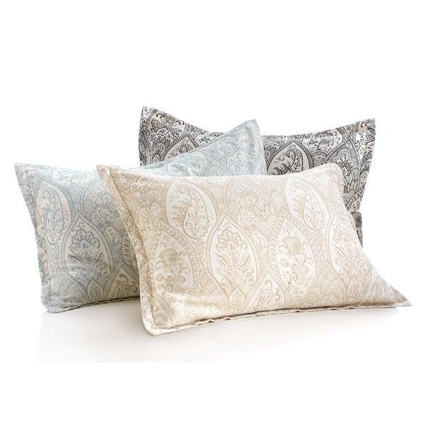 Modern Living Sienna Paisley Sham Pillowcase