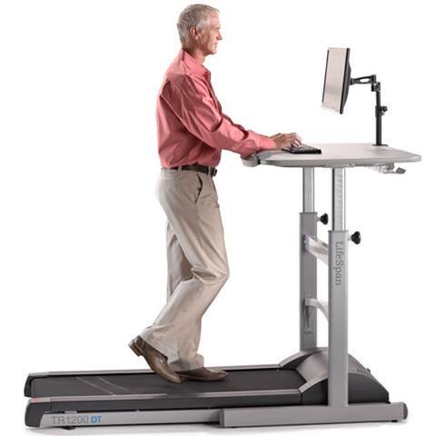 LifeSpan TR1200-DT5 Treadmill Desk - grey