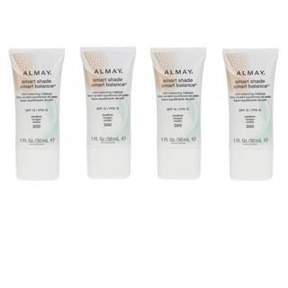 Almay Smart Shade Medium 300 Liquid Makeup (Pack of 4)|https://ak1.ostkcdn.com/images/products/9435005/P16620841.jpg?impolicy=medium