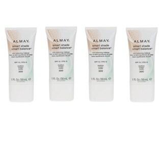 Almay Smart Shade Medium 300 Liquid Makeup (Pack of 4)