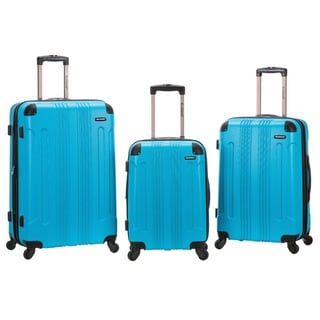 Rockland 3-Piece Expandable Hardside Spinner Luggage Set