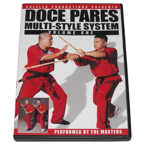 Doce Pares Filipino Martial Arts Eskrima Escrima Kali Arnis Training DVD #1