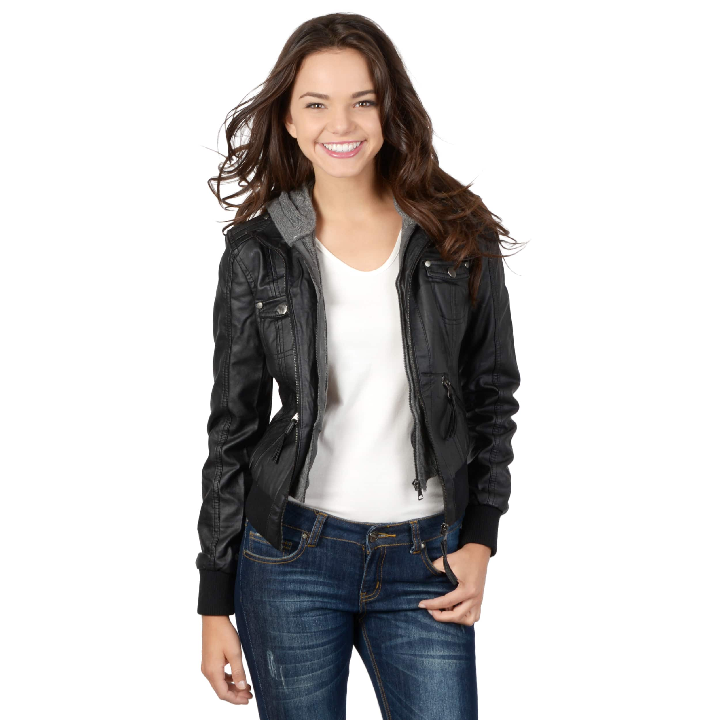 Juniors' Jackets & Blazers For Less