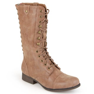 Madden Girl by Steve Madden Women's 'Galeriaa' Round Toe Combat Boots