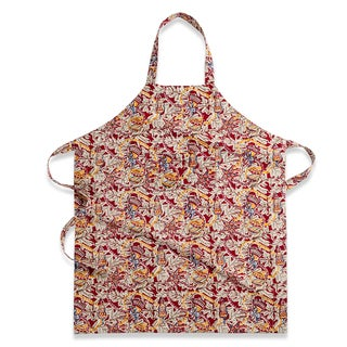 Couleur Nature Red and Green Noel Apron