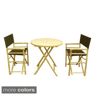Phat Tommy Bistro Set with Round Table