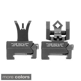 Troy Industries Micro M4 Front and DOA Rear Foldng Sight