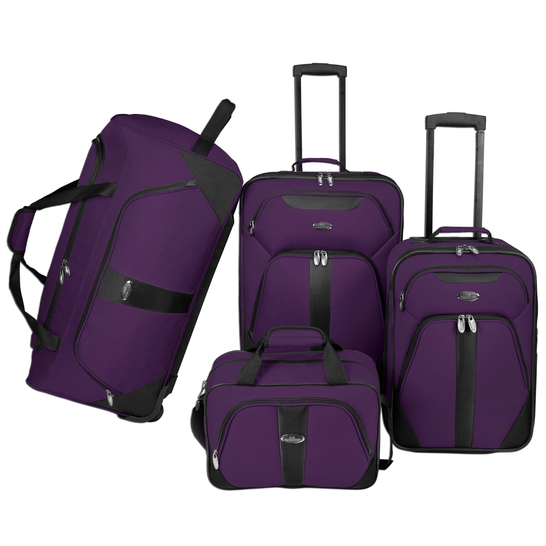 US Traveler by Traveler's Choice Oakton 4-Piece Colorful ...
