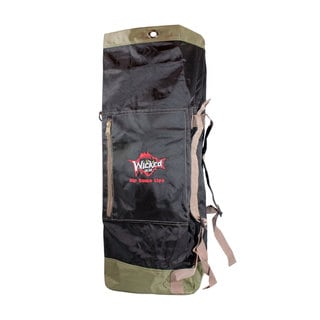 Wicked Black 39-inch Travel/ Gear Duffle Bag