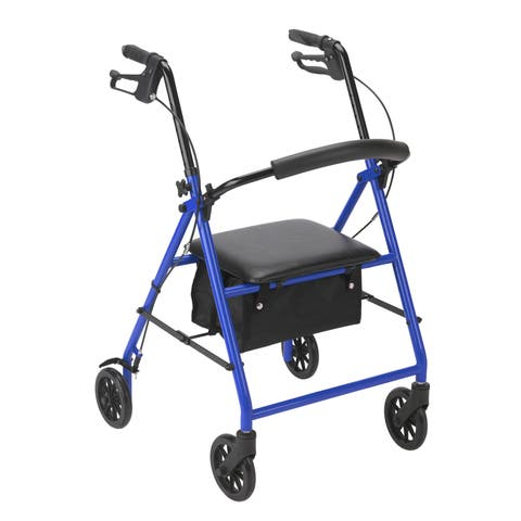 "Drive Medical Rollator Rolling Walker with 6"" Wheels"