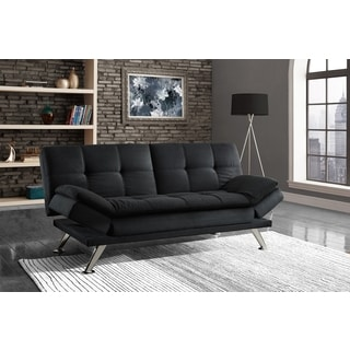 DHP Premium Bailey Black Futon