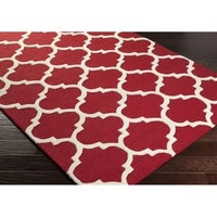 Hand Tufted Riso Moroccan Trellis Wool Rug 2 3 X