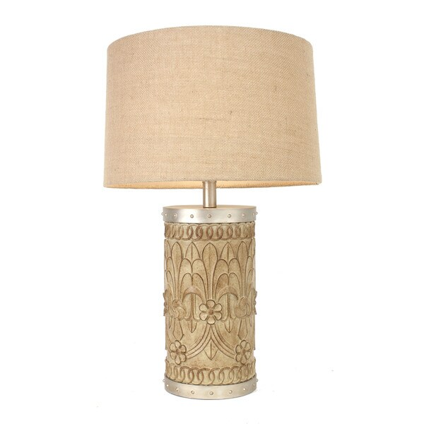 mango wood table lamp free shipping today overstock. Black Bedroom Furniture Sets. Home Design Ideas