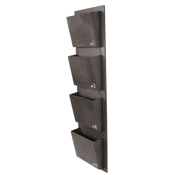 Shop Linon Number 4 Slot Mail Hanger Free Shipping Today