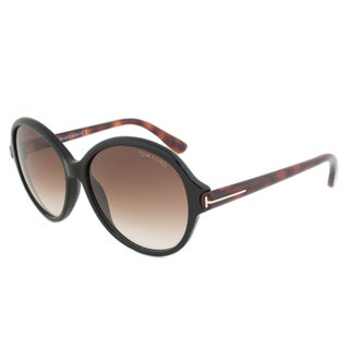 Tom Ford Women's TF0343 Milena Round Sunglasses
