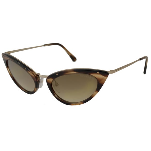 59148ae9a0a Shop Tom Ford Women s TF0349 Grace Cat-Eye Sunglasses - Free ...