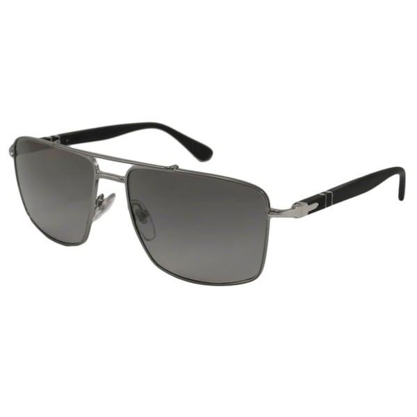 3b1f7e7204e Shop Persol Men s PO2430 Polarized  Aviator Sunglasses - Free ...