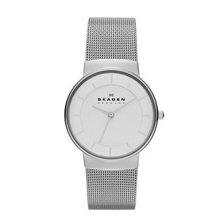 Skagen Women's Klassik SKW2075 Three-hand Stainless Steel Watch - silver