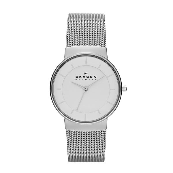 Skagen Women's Klassik Three-hand Stainless Steel Watch - silver