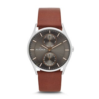 Skagen Men's SKW6086 Holst Stainless Steel Dark Brown Watch https://ak1.ostkcdn.com/images/products/9437207/P16622974.jpg?_ostk_perf_=percv&impolicy=medium