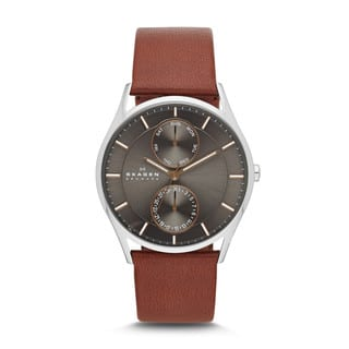 Skagen Men's SKW6086 Holst Stainless Steel Dark Brown Watch|https://ak1.ostkcdn.com/images/products/9437207/P16622974.jpg?impolicy=medium
