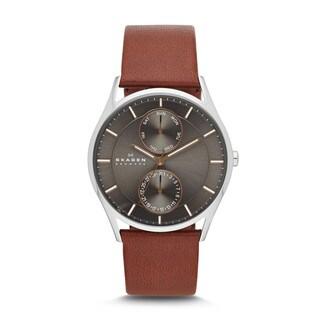 Skagen Men's SKW6086 Holst Stainless Steel Dark Brown Watch