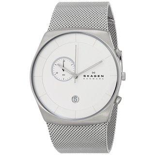 Skagen Men's SKW6071 Havene Chronograph Stainless Steel Silver Watch
