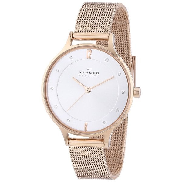 item womage new gold women steel dress watch relogio feminino clocks fashion rose female luxury quartz stainless watches