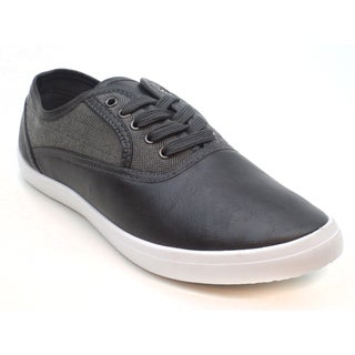 Blue Men's 'M-Lammy' Black Lace-up Sneakers