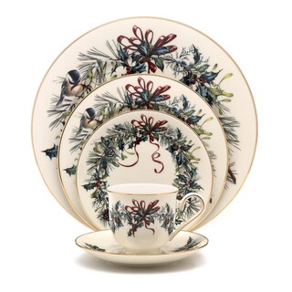 Lenox Winter Greetings 5-piece Dinnerware Set