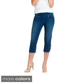 Bluberry Denim Women's Plus Size Pedal Pusher Jeans