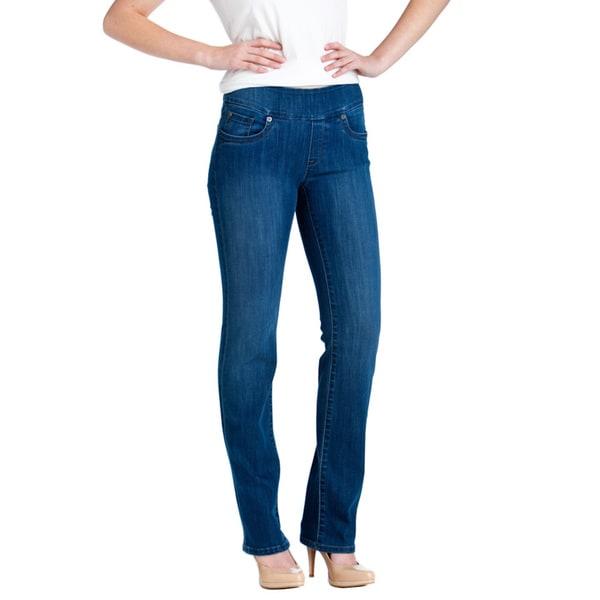Bluberry Denim Women's Premium Straight-cut Jeans