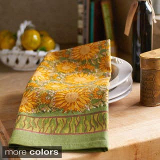Couleur Nature Sunflower Tea Towels (Set of 3)|https://ak1.ostkcdn.com/images/products/9437481/P16623153.jpg?impolicy=medium